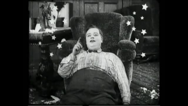 The Rough House - Arbuckle sees stars