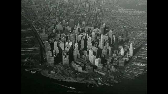 The Naked City - Lower Manhattan in 1948